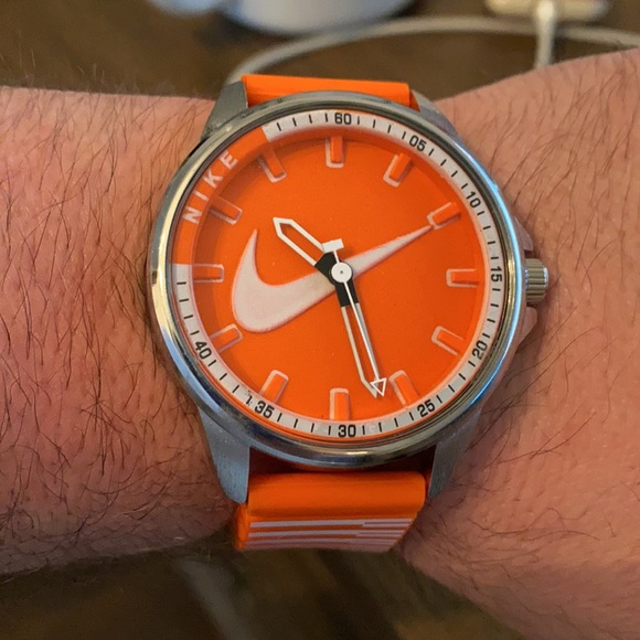 Nike watch with Silicone Band